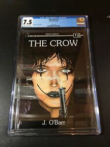 The Crow #1 first printing CGC 7.5