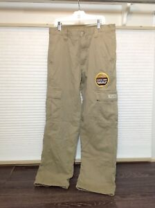 Wrangler Men's Fleece Lined Cargo Pants - 30 x 30