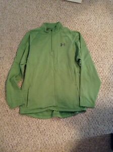 Men's Green Underamour Sweatshirt