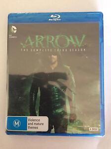Arrow Season 3 blu ray DVD Sunbury Hume Area Preview