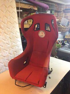 Carbon Seat on Bride rails suit S chassis