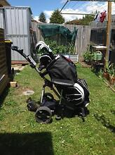 Cobra Golf Clubs with remote control electric buggy Claremont Glenorchy Area Preview