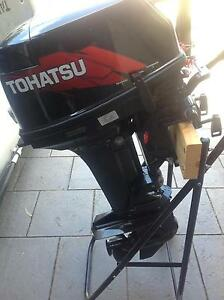 Tohatsu 15HP 2 stroke outboard motor almost new Goodwood Unley Area Preview