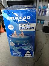 """Drilled Fast Set Pool10x 30. -305 x76Cm water capacity80/3""""638L Fairfield Fairfield Area Preview"""