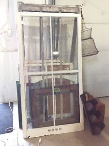 Large window with existing glass
