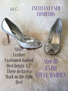 Size 10 heels, flats,walking shoes and more