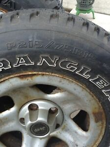 WANTED LOOKING FOR ONE TIRE P215/75R15 GOODYEAR /WRANGLER
