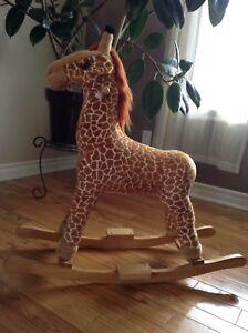 Girafe à bascule, exerciseur pour bébé