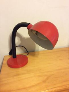 Marble table lamps pair table desk lamps gumtree australia desk lamp red metal aloadofball