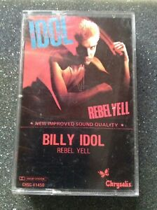 Billy Idol - Rebel Yell - Audio Cassette