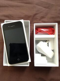 UNLOCKED IPHONE 4S BLACK 16GB INCLUDING BOX Sydney City Inner Sydney Preview