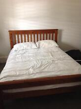 Double bed with mattress & matching chest of draws Woollahra Eastern Suburbs Preview
