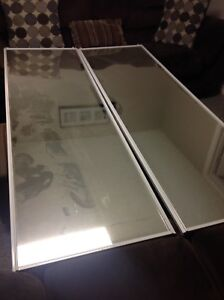 Mirrored sliding closet doors ........all 3 for $200.00