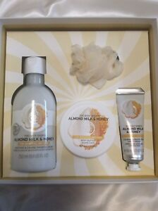 The Body Shop Almond milk & honey collection (BNIB)