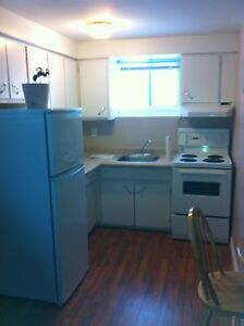 For Rent 1 Bedroom plus Den basement apartment
