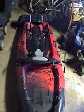 Only used once, fishing kayak Shellharbour Shellharbour Area Preview