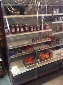 refrigerateur presentoir epicerie 16' self serve