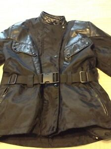 Motorcycle Kevlar & Leather woman jacket & pants
