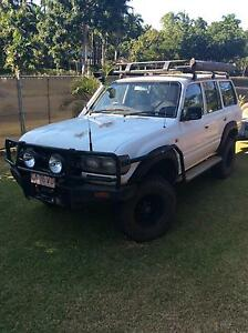 1991 Toyota LandCruiser Wagon Gray Palmerston Area Preview