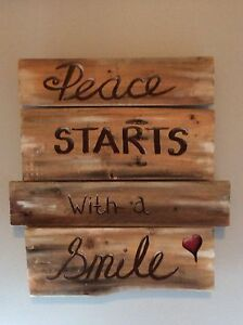 Hand paint signs