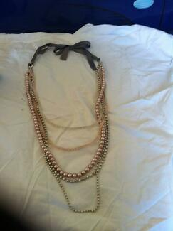 Necklace Beads 1920's Flapper Belmont Lake Macquarie Area Preview