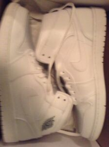 *PRICE DROP* NEED GONE: AIR JORDAN 1 MID ALL WHITE