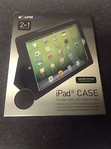 NEW sound logic 2 in 1 ipad case/stand
