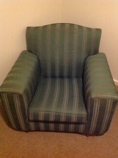Comfy green chair