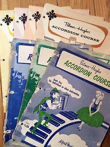 Accordion Music Songbooks, Sheets & Course Books