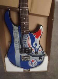 Toronto Blue Jays Electric Guitar -NIB