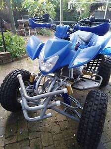 Fury quad bike