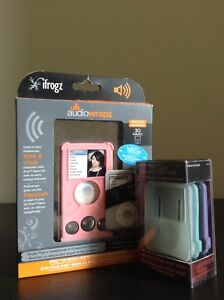 iPod 3rd gen cases/ silicon cases & iFrogz audio speaker case