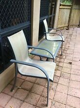 Outdoor setting 2 chairs 1 glass table. Kamerunga Cairns City Preview