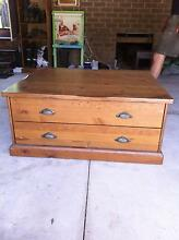 Solid Timber Coffee Table Brighton East Bayside Area Preview