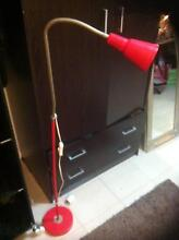*******BEAUTIFUL AND PRACTICAL RED FLOOR LAMP*********** Concord Canada Bay Area Preview