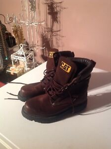 CAT leather boots size 7 1/2