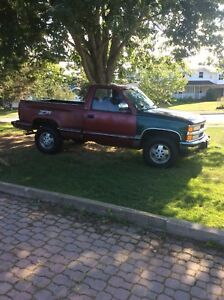 1992 Chevrolet Z71, short box - step side