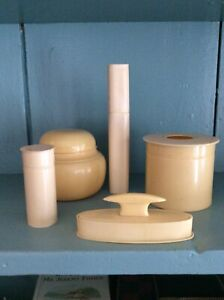 6 PIECES OF FRENCH  IVORY. Lovely vintage accessories