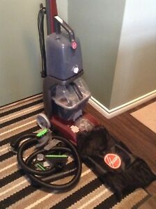Carpet Shampooer with attachments