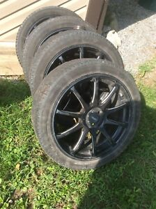"""17"""" rims and tires $800"""
