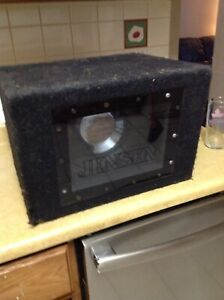 Car audio subwoofer speaker