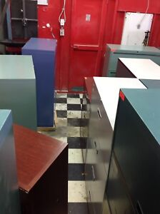 LOTS AND LOTS OF USED LATERAL / VERTICAL FILE CABINETS