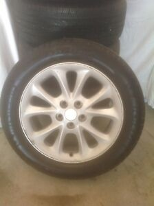 5 MICHELIN ALL SEASON TIRES.       $500.00