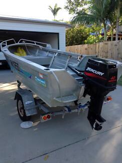Aluminium fishing boat Agnes Water
