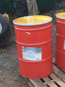 45 gallon barrel of grease and kegs