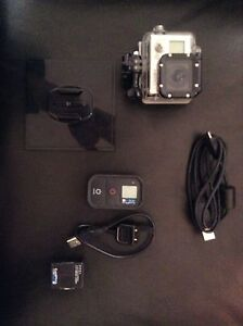 GO PRO WITH REMOTE AND UNDERWATER CASING