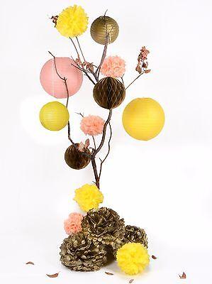 15pcs pom pom lantern fall autumn birthday harvest festival Party Decoration - Fall Birthday Decorations