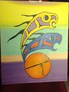 "Native Art ""Spirit of the Pipe"""