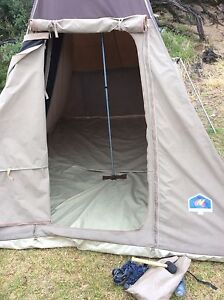 Freedom camping family tourer canvass tent for 6-8 people Surrey Hills Boroondara Area Preview