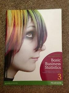 Basic Business Statistics concept and app 3rd Edition Pearson Cook Belconnen Area Preview